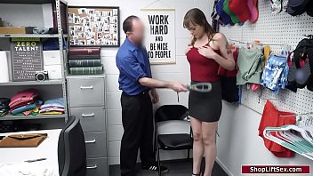 Brunette gets dominated by an old guard