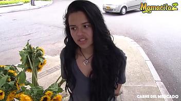 CARNE DEL MERCADO - #Selena Gomez - Sexy Ass Colombiana Rides Big Cock Daddy - FULL!