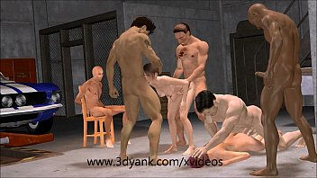 3d adult anima - 3d anime garage interracial gangbang from 3d yank
