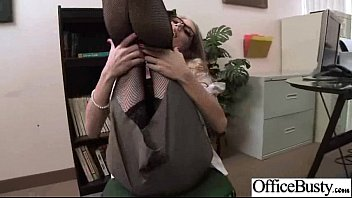 Bigtits Girl (shawna lenee) Get Hard Style Nailed In Office vid-29