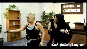 "Tori Lane in  "" The Bank Job"" Lesbian Gangbang 51 min"