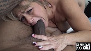 Mouth full of tits - A mouth full of big black cock