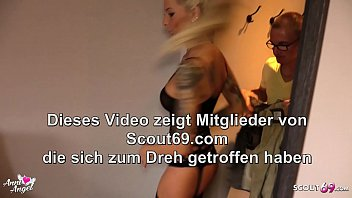 Real German Teen Hooker Anni Angel at Hotel Date with Virgin Client 6 min