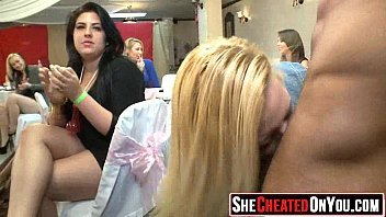 29 This is nuts! Cheating milfs fuck at stripper party 30
