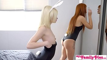 Bunnies Tricked By Step Brrother Ends With Easter Creampie S8:E1