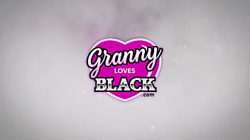 GRANNYLOVESBLACK - Slutty Lacey Pays Hung Taxi Driver With Sex