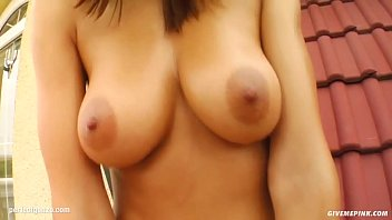 Watch Janette gonzo style solo masturbating on Give Me Pink