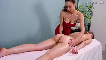 First Time Virgin Massage For Irka Davalka