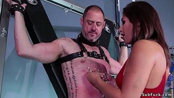 Teen mistress anal fucks older sub 5 min