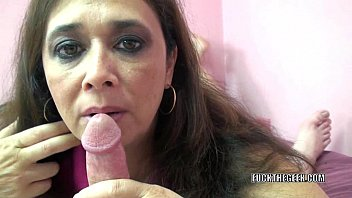 Balls sucked while sucking Curvy milf alesia pleasure licks balls and sucks dick