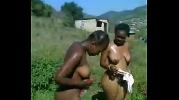 Girls feeling breasts - When we are bathing we feelings and play with breast
