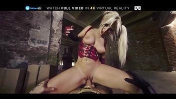 BaDoink VR Interrogation Penetration For Blondie Fesser VR Porn pornhub video