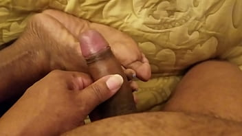 Cum on pretty gray toes