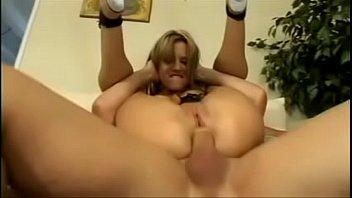 Bondage pretzel Saggy bouncing tits in pretzel position