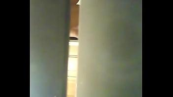 peeping on asian girl showering