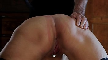 Chubby girls bdsm - Asshole and pussy whipping for the chubby slave girl