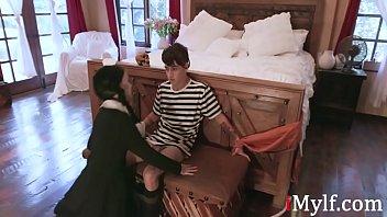Addams Family XXX Parody-  Audrey Noir, Kate Bloom