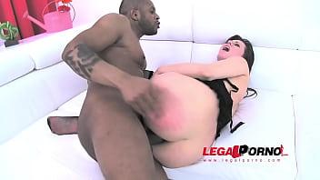 Sarah Gold DP'ed (black monster cocks anal) SZ681