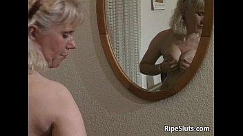 Slutty mature blonde Slutty mature blonde suck on big cock