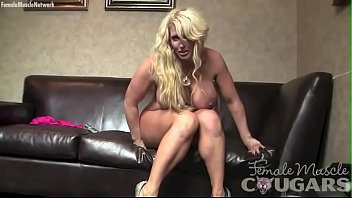 Female porn stars Female bodybuilder porn star alura jenson plays
