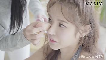 公众号【是小喵啦】韩国美女模特性感写真,情趣丝袜内衣超诱惑现场