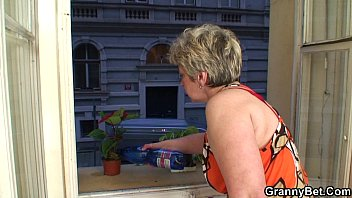 Hot guy bangs lonely 60 years old granny 6 min