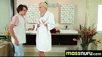 Japanese Masseuse Gives a Full Service Massage 21