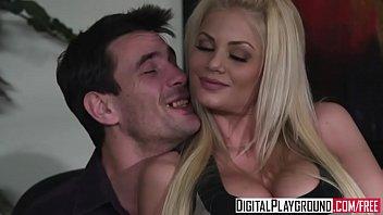 (Riley Steele) rides her bosses dick - Digital Playground