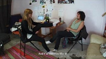 french best friend girls forced smell feet