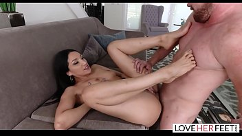 LoveHerFeet - Sexy Vicki Chase Has Her Petite Feet Sucked And Fucked