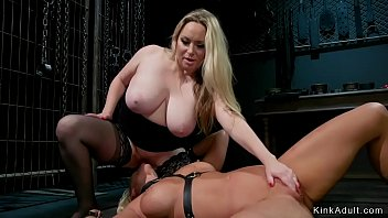 Down river escorts Huge tits babe spanks big ass blonde