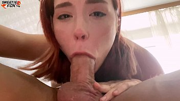 Girl Deep Sucking Big Dick Guy and Doggystyle Fuck after a Walk