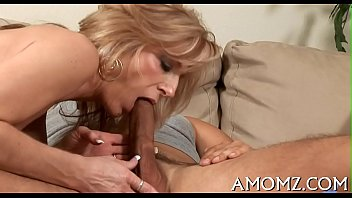 Sexy mom is fingered and screwed