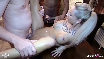 Creampie Gangbang for petite German Teen Anni Angel by Stranger Big Dicks 11 min