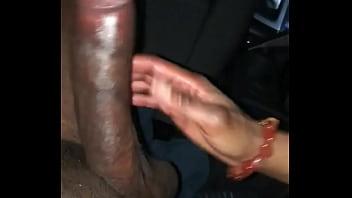 Monster cock in car