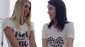 Russian Dream Teens Massage client before a HOT Threesome 23 min