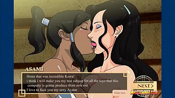 My anime sex Training with korra