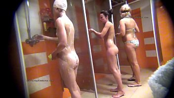 Shower nudes movies - We hide camera to spy on naked girls