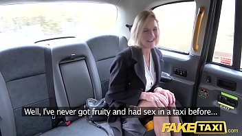 Fake Taxi Mature Milf gets her big pussy lips stretched open preview image