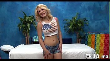 Lustful blonde Courtney Shea enjoys pole in her pie