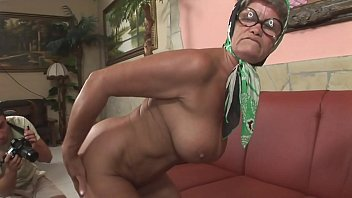 A granny hides a breathtaking body!