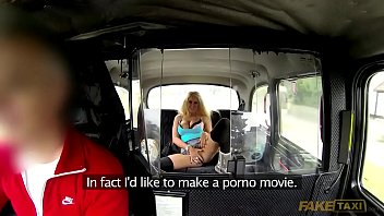 Faketaxi With Blonde Girl