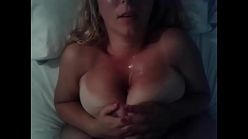 Titfuck from wife amateur BBW
