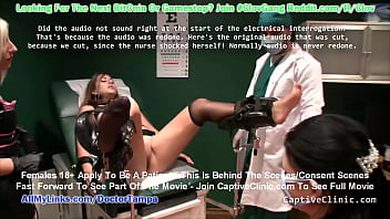 $CLOV The Interrogator Crystal Frost Become The Interrogated Alongside Angel Rose While Nurse Amo Morbia &amp_ Doctor Tampa Extract The Trust Using Electricity @CaptiveClinic.com