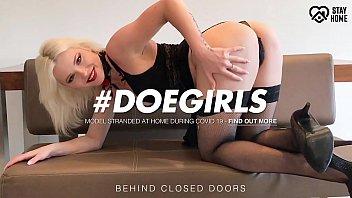 DOEGIRLS - How A Hungarian Nympho Pornstar Survived This Quarantine - Zazie Skymm