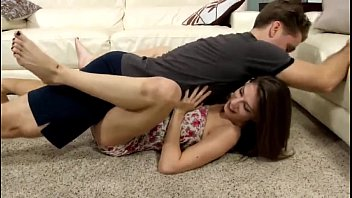 Shirtless teen wrestling Stepdaughter learns how to wrestle