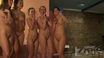 Nude naturist females - Voyeur girls sing