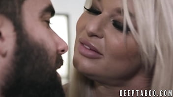 London River punishes her man before riding his massive cock