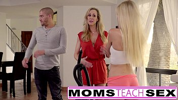 Skinny hot mom porn - Moms teach sex - big tit mom catches daughter