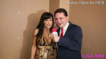 Lisa Ann: porn meeting with Andrea Diprè! thumbnail